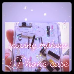 Accessories - Moving makeup iPhone case